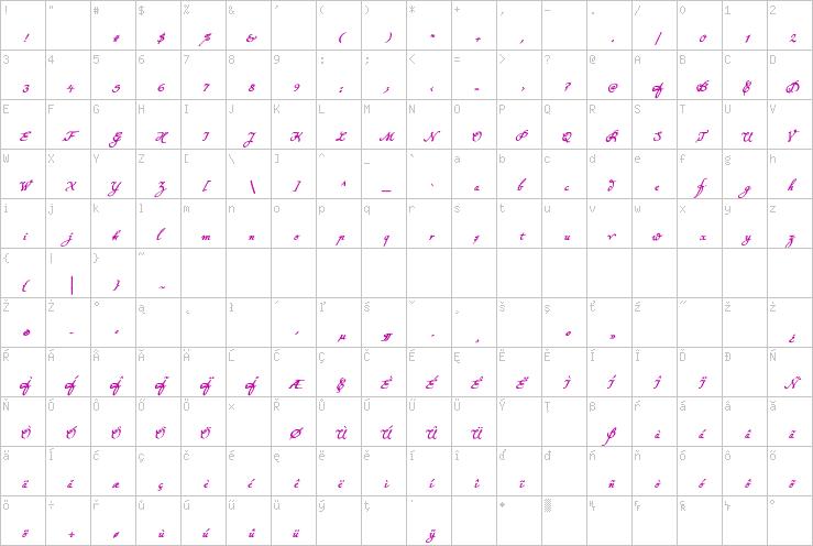 Konstantin Forte Ce PDF » K » Display Fonts » TrueType