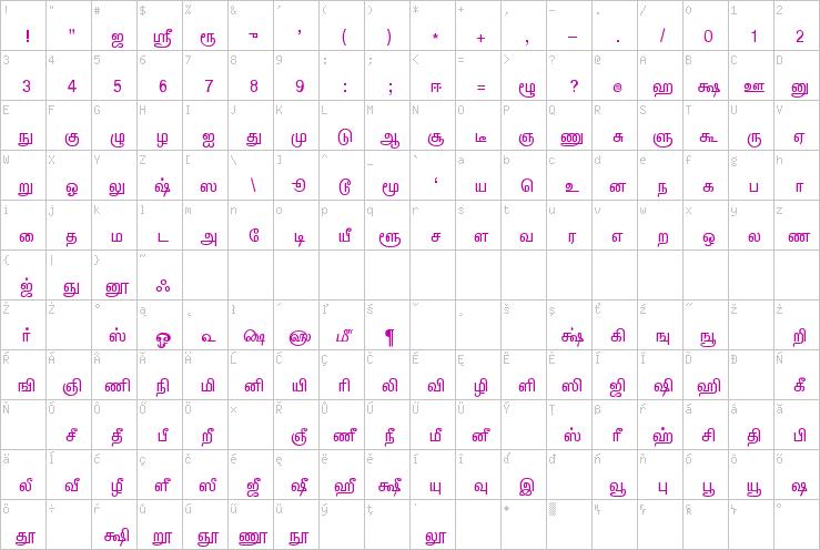 LT-TM-Barani » Tamil Fonts » Foreign Language Fonts