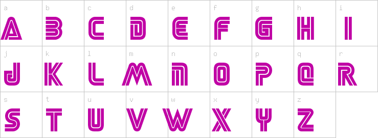 desire uppercase 2 font free