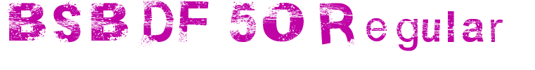 BSB DF 50 Regular