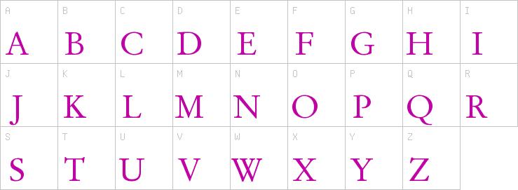 Stempel Garamond Roman   S   Display Fonts   TrueType
