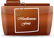 Miscellaneous Fonts